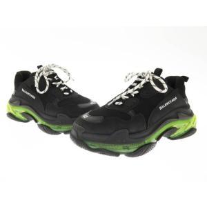 【中古】バレンシアガ BALENCIAGA Triple S Clear Sole Sneaker ...