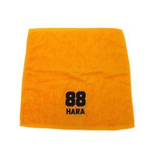 giants ジャイアンツ HARA 88 刺繍 タオル ハンカチ 原 巨人 オレンジ メンズ【中古】【ベクトル 古着】