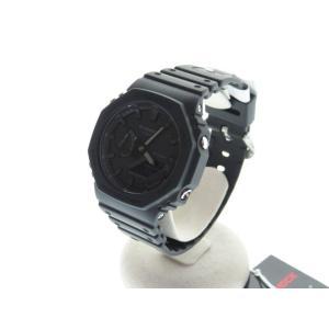 【中古】カシオジーショック CASIO G-SHOCK 未使用品 GA-2100-1A1JF デジタル 腕時計 ブラック【ブランド古着ベクトル】201221★ メンズ 【ベクトル 古着】 vectorpremium