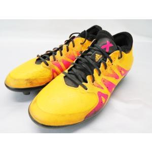 【中古】アディダス adidas サッカー ジュニアスパイク  エックス15.1ージャパン  AF5604  22センチ【ベクトル 古着】|vectorpremium