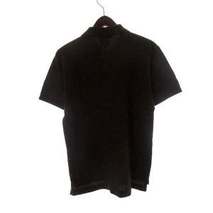 コムデギャルソン COMME des GARCONS HOMME DEUX ナイキ NIKE コラボ ポロシャツ S 茶 ブラウン コットン 鹿の子 ロゴ AD2012 メンズ【中古】【ベクトル 古着】|vectorpremium|02