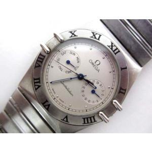 オメガ OMEGA コンステレーション デイデイト 腕時計 1520.30 クオーツ SS メンズ ボーイズ ☆AA★【中古】【ベクトル 古着】