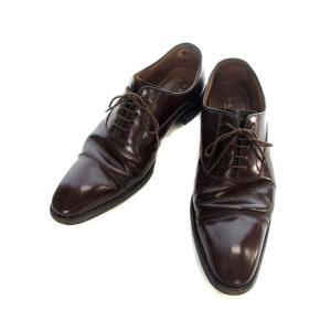 リーガル REGAL 315R ビジネス シューズ 革靴 27.0cm ダークブラウン レザー 牛革 ストレートチップ メンズ 【中古】【ベクトル 古着】 vectorpremium