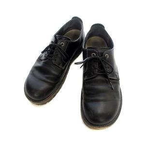 ビルケンシュトック BIRKENSTOCK レザー シューズ 革靴 43 28.0cm 黒 ブラック...