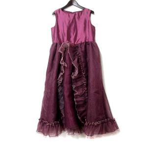 【中古】キャサリンコテージ Catherine Cottage ワンピース 160 紫 パープル ノ...