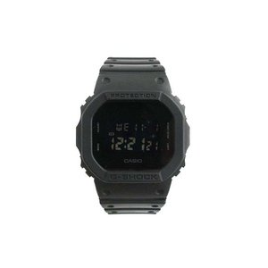 カシオジーショック CASIO G-SHOCK 腕時計 ソリッドカラーズ スクエアケース マット ワントーン ブラック 黒 DW-5600BB-1JF メンズ【中古】【ベクトル 古着】 vectorpremium