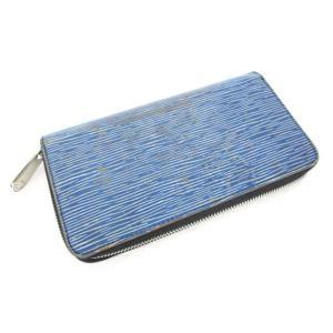 ルイヴィトン LOUIS VUITTON エピ デニム ジッピーウォレット 長財布 ブルー 青 M60957 メンズ レディース【中古】【ベクトル 古着】|vectorpremium