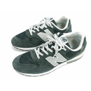 【中古】ニューバランス NEW BALANCE MRL996AN スニーカー 靴 シューズ スウェード 27cm ネイビー系 ランニング メンズ 【ベクトル 古着】|vectorpremium
