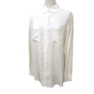 未使用品 ベイジ BEIGE. 長袖 シャツ シルク 絹 アイボリー ベージュ 4 胸ポケット X レディース 【中古】【ベクトル 古着】|vectorpremium
