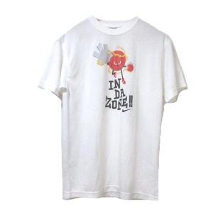 ナイキ NIKE Tシャツ 半袖 カットソー DRI-FIT プリント 白 ホワイト XS 小さいサイズ X メンズ 【中古】【ベクトル 古着】 vectorpremium