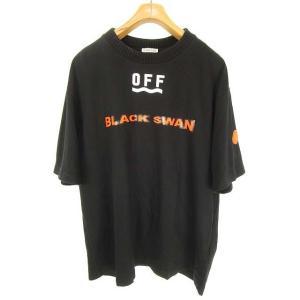 オフホワイト OFF WHITE × モンクレール 17SS ブラックスワン Black Swan ...