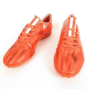 【中古】アディダス adidas B44233 F10 TF トレーニングシューズ サッカー フットサル 27.5cm オレンジ メンズ 【ベクトル 古着】|vectorpremium