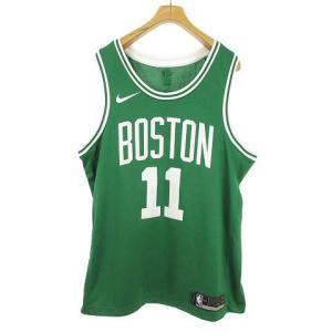 【中古】ナイキ NIKE NBA ボストン セルティックス 11 カイリー アービング ゲームシャツ...