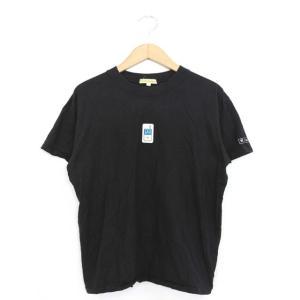 【中古】P.T.R.NEWBOLD Tシャツ カットソー ワンポイント 半袖 F ブラック 黒 /YT18 レディース【ベクトル 古着】|vectorpremium