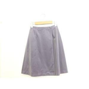 タイムピース TIME PIECE ラップスカート スカート ボトムス 無地 ミニ パープル 紫 /...