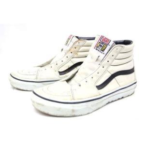 【中古】バンズ VANS シューレースなし スケートハイ スニーカー 靴 シューズ 26.5 /ZT1 メンズ 【ベクトル 古着】|vectorpremium