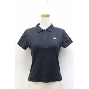 【中古】バーバリーゴルフ BURBERRY GOLF ポロシャツ ワンポイント 刺繍 プルオーバー ...