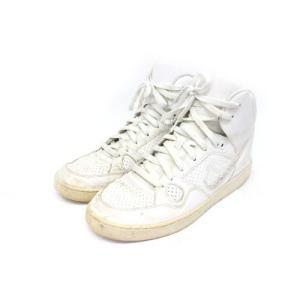【中古】ナイキ NIKE サンオブフォース ミッド スニーカー 靴 シューズ 29 白 ホワイト /Z メンズ 【ベクトル 古着】|vectorpremium