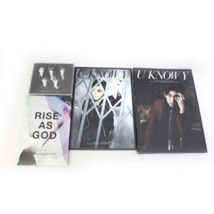 【中古】セット販売 3点セット 東方神起 CD BEST SELECTION 2010 RISE AS GOD TVXQ! DVD U KNOW Y /Z   【ベクトル 古着】|vectorpremium