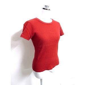 アニエスベー agnes b. 半袖 無地 カットソー Tシャツ 1/E2 レディース【中古】【ベクトル 古着】
