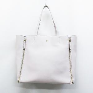 57146c80f6d6 組曲 クミキョク KUMIKYOKU トートバッグ ハンドバッグ 鞄 フェイクレザー 薄紫 パープル.