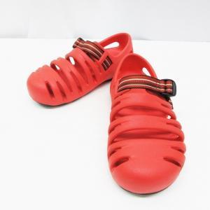 【中古】モンベル Montbell キャニオン サンダル 靴 シューズ ストラップ 22 赤 レッド系  レディース 【ベクトル 古着】|vectorpremium