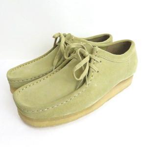 【中古】未使用品 クラークス clarks 336E ORIGINALS Wallabee ワラビー スエード シューズ 靴 ベージュ 7 1/2 メンズ 【ベクトル 古着】|vectorpremium