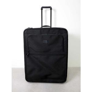 トゥミ TUMI キャリーバッグ キャリーケース 拡張 ファスナー 大型 大容量 スーツケース 2284D3 黒 ビジネス 出張 かばん 鞄 メンズ【中古】【ベクトル 古着】|vectorpremium