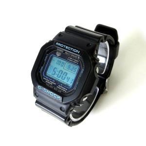 カシオジーショック CASIO G-SHOCK 腕時計 デジタル タフ ソーラー GW-M5610BA クオーツ 黒 ブルー マルチバンド6  メンズ【中古】【ベクトル 古着】 vectorpremium
