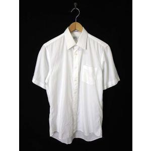 【中古】バーバリー BURBERRY シャツ ワイシャツ Yシャツ シャドーストライプ柄 コットン ...