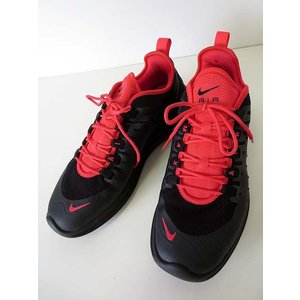 【中古】ナイキ NIKE AIR MAX AXIS エアマックス アクシス スニーカー シューズ 靴 26.5 黒 ブラック 赤 ネオンレッド くつ クツ メンズ 【ベクトル 古着】|vectorpremium