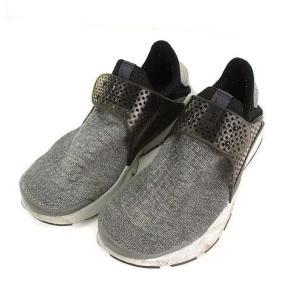 ナイキ NIKE スニーカー シューズ 靴 ソックダート SE プレミアム  Sock Dart SE Premium 859553-002 グレー系 27cm メンズ 【中古】【ベクトル 古着】|vectorpremium