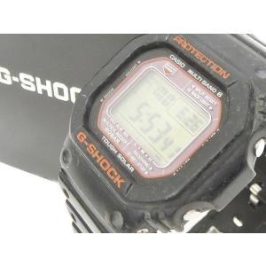 カシオジーショック CASIO G-SHOCK 腕時計 デジタル GW-M5610R タフソーラー 電波 ショックレジスト 樹脂バンド 黒 ブラック メンズ【中古】【ベクトル 古着】|vectorpremium
