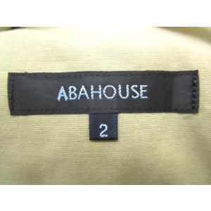 アバハウス ABAHOUSE ステンカラ―コート コットン リネン混 比翼 ボタンアップ ジップ シングル トレンチ ベルト 2 ベージュ Y84083 メンズ【中古】 vectorpremium 05