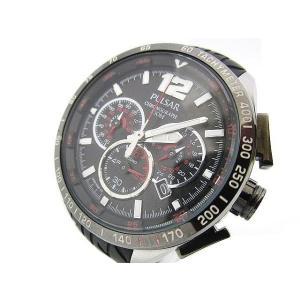 【中古】セイコー SEIKO 腕時計 PULSAR パルサー アナログ クロノグラフ デイト vk6...