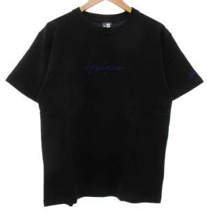【中古】ヨウジヤマモト YOHJI YAMAMOTO NEW ERA TEE Tシャツ 半袖 ロゴ ...