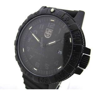 【中古】ルミノックス LUMINOX 腕時計 NAVY SEAL 0320 ネイビーシールズ SEA TURTLE GIANT 100m防水 クォーツ カーボンケース 黒 ブラック C11681 メンズ|vectorpremium