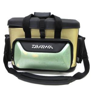 【中古】ダイワ DAIWA クーラーボックス タックルボックス ソフトケース ショルダー ベージュx...