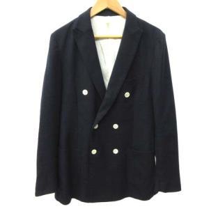 【中古】ザ・スーツカンパニー THE SUIT COMPANY スーツ ジャケット ダブル 貝ボタン...