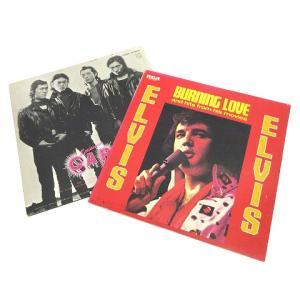 【中古】キャロル CAROL ELVIS レコード 2枚セット ルイジアナ オリジナル見開きジャケット Burning Love LP ビンテージ K060510 その他 【ベクトル 古着】|vectorpremium