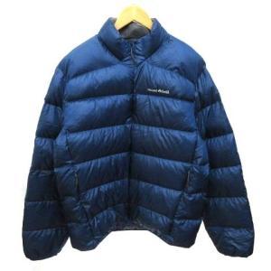 【中古】モンベル Montbell ライトアルパイン ダウンジャケット 1101359 ロゴ刺繍 ジ...