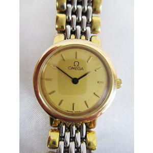 オメガ OMEGA 腕時計 クオーツ De Ville ステ...