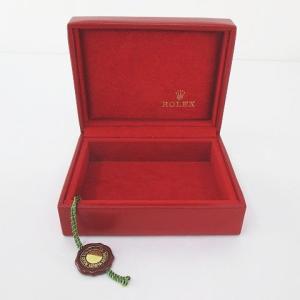 【中古】ロレックス ROLEX 内箱 腕時計入れ 純正 付属品 赤系 レッド その他 【ベクトル 古着】|vectorpremium