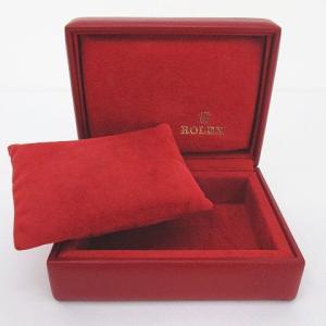 【中古】ロレックス ROLEX 外箱 内箱 冊子 腕時計入れ 純正 付属品 赤系 レッド その他 【ベクトル 古着】|vectorpremium