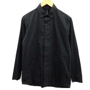 【中古】テアトラ TEATORA 19SS Keyboard SHIRT シャツ 長袖 0 黒 ブラ...