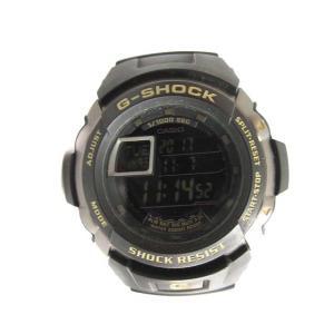 カシオジーショック CASIO G-SHOCK 腕時計 G-SPIKE デジタル ショックレジスト 黒 G-7710 /TU メンズ【中古】【ベクトル 古着】|vectorpremium