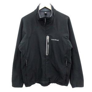モンベル Montbell ノマドジャケット ジップアップ 黒 L 1106453  /☆Q27 メ...