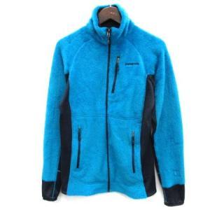 パタゴニア Patagonia メンズR2ジャケット フリース ジップアップ S 青 25138 /...
