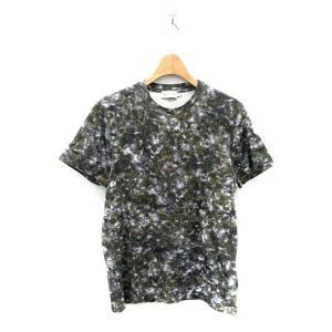 モンクレール MONCLER MAGLIA T-SHIRT Tシャツ カットソー 半袖 S カーキ グレー 82925 /NT22 メンズ 【中古】【ベクトル 古着】 vectorpremium