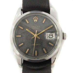 【中古】ロレックス ROLEX 腕時計 ウォッチ 81年 オイスターデイト 手巻き PRECISION 黒 ブラック 6694 /TU▲H ジャンク メンズ 【ベクトル 古着】|vectorpremium